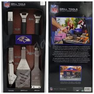 NFL Grill Tools Set (3-Piece) Baltimore Ravens
